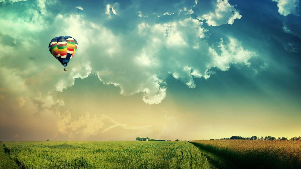 визуализация с балон